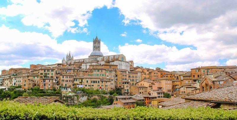 Alojarse en Siena, Toscana