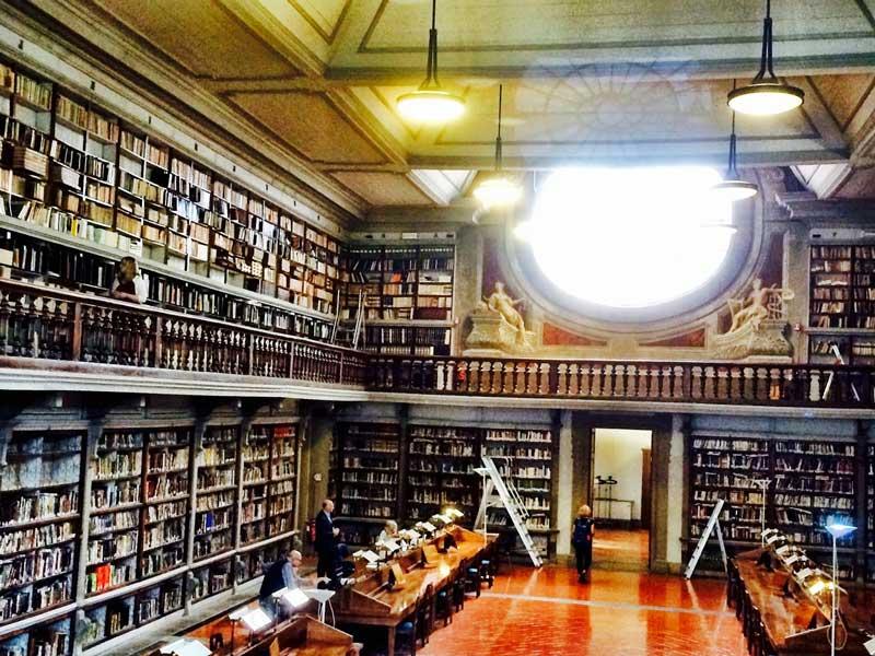 biblioteca museo galileo