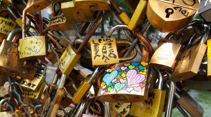 Ponte Vecchio y los candados de amor