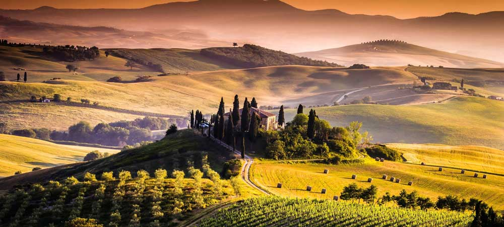 casas rurales en la Toscana
