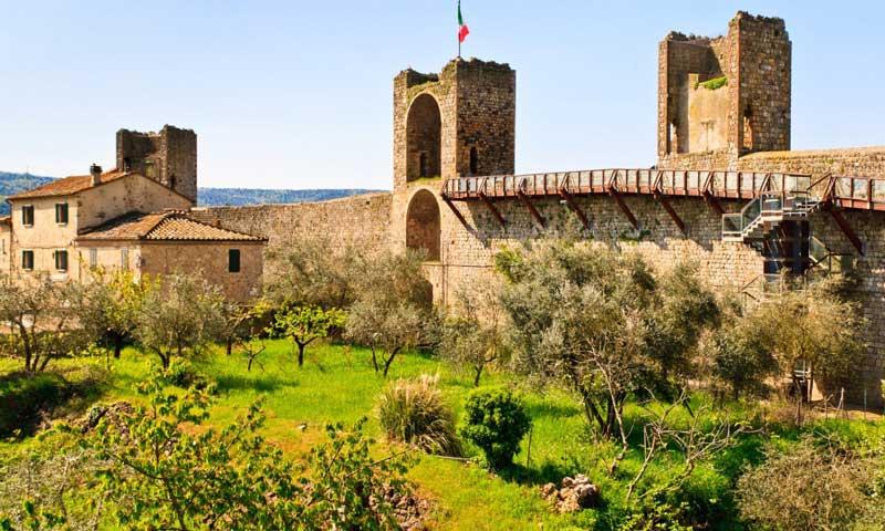 Castillo de Monteriggioni