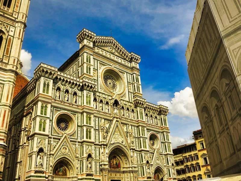 Entrada a la Catedral de Florencia