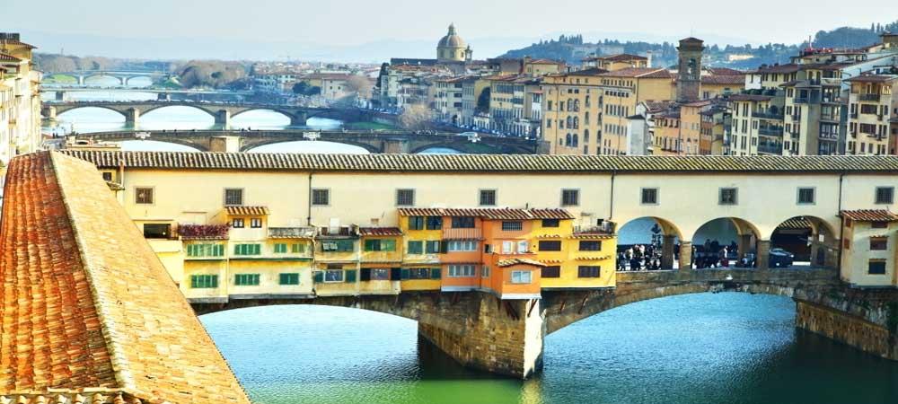 Corredor Vasariano, una terraza elevada en Florencia