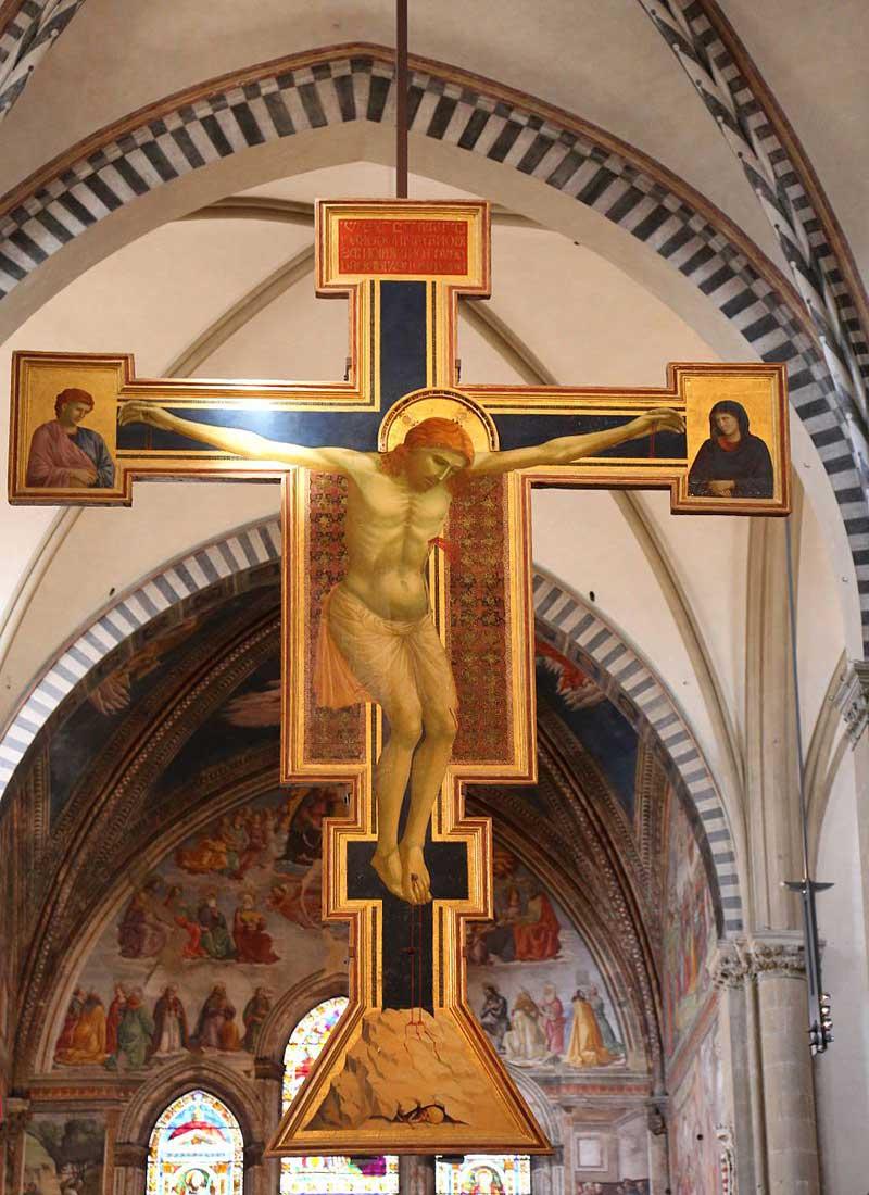 Crucifijo de Santa Maria Novella de Giotto