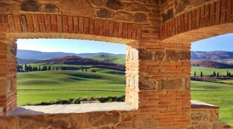 Donde alojarse en Toscana, Valle de Orcia