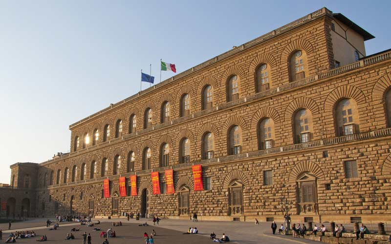 Edificio de la Galería Palatina