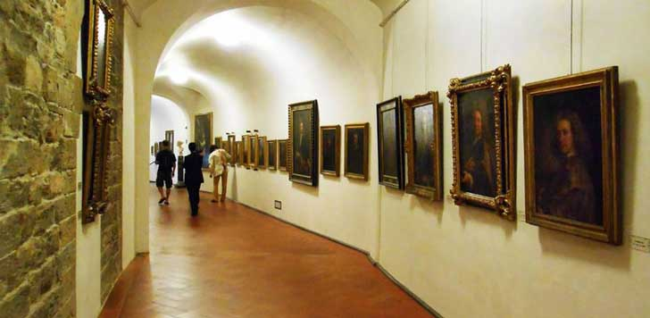 entrada corredor vasariano
