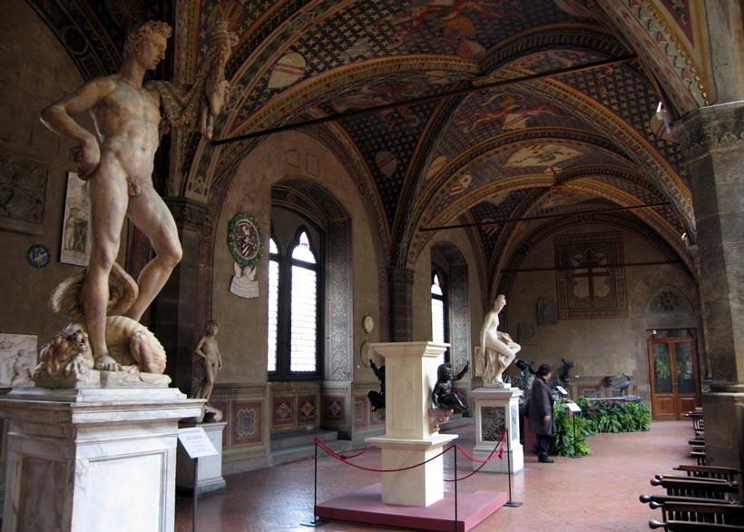 Interior Museo Nazionale del Bargello