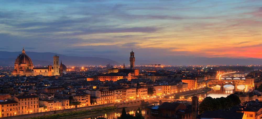 Vistas desde la Piazzale Michelangelo
