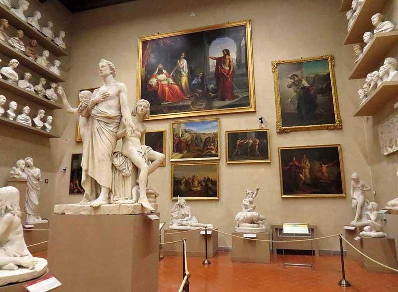 Gipsoteca Bartolini en la Galería de la Academia
