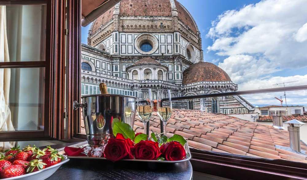 Hoteles en el centro historico de Florencia