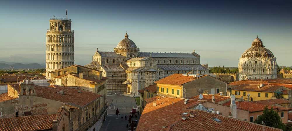 Hoteles en Pisa