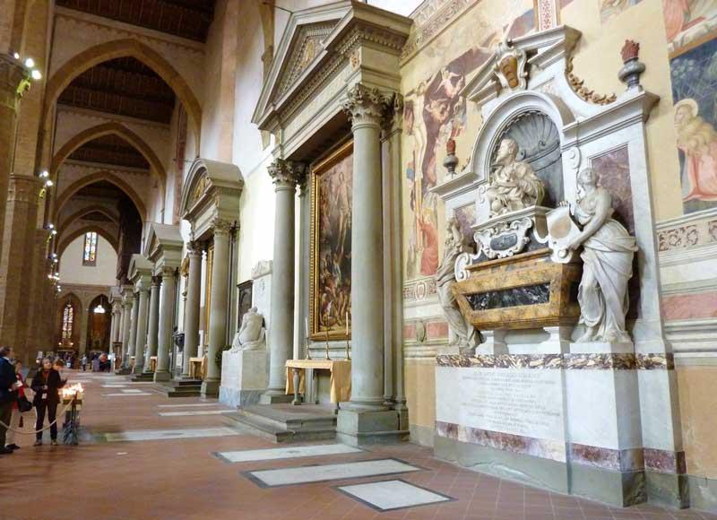 Interior Iglesia de Santa Croce