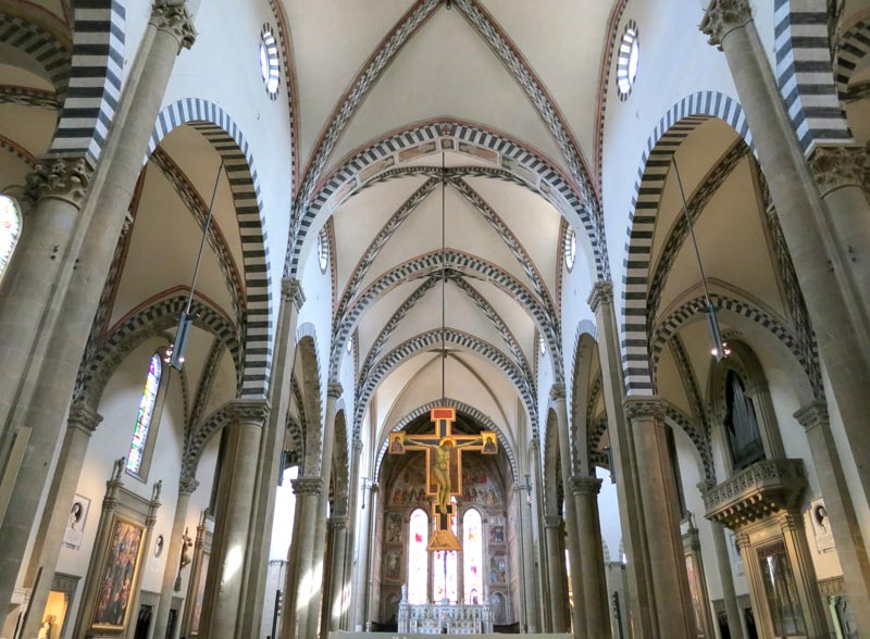 Interior Santa María Novella