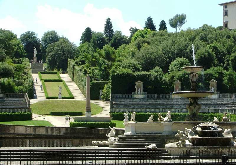 Visitar los Jardines de Boboli