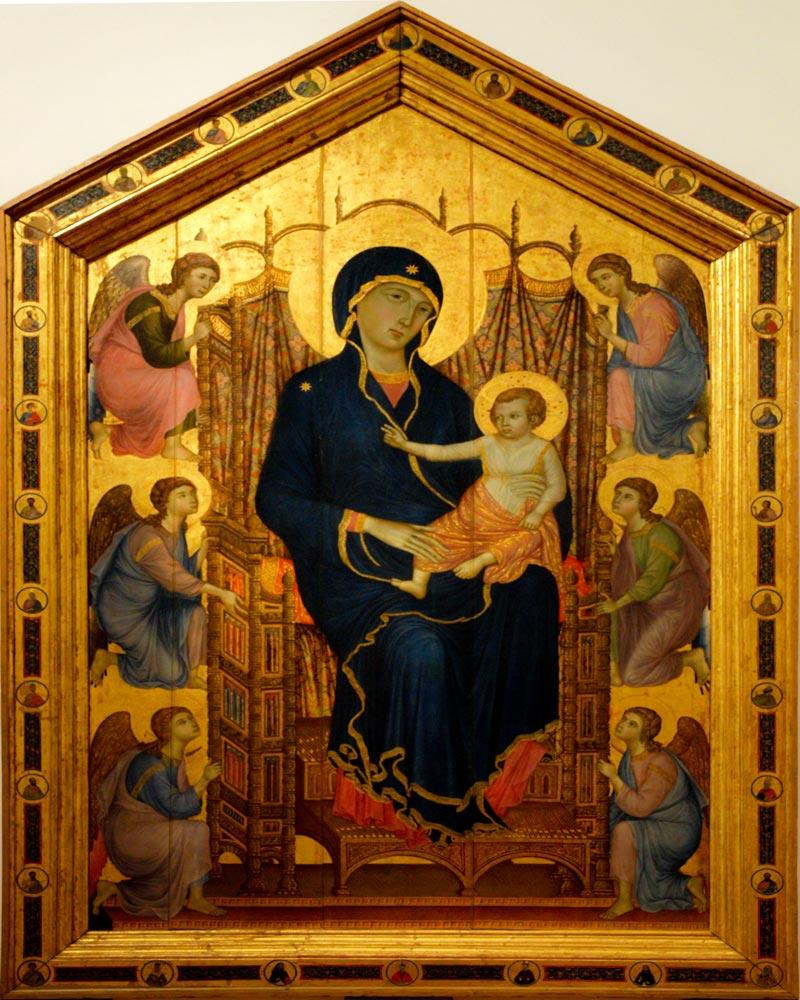 Madonna Rucellai de Buoninsegna