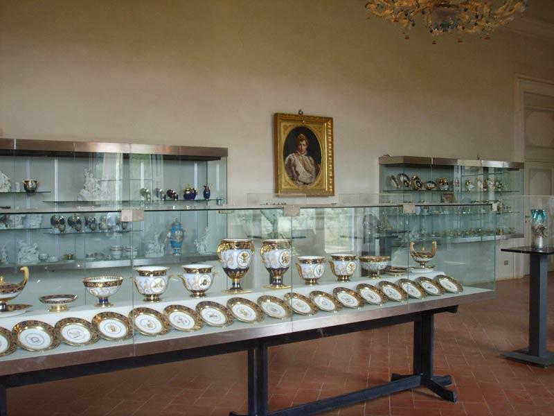 Museo de porcelana en Florencia