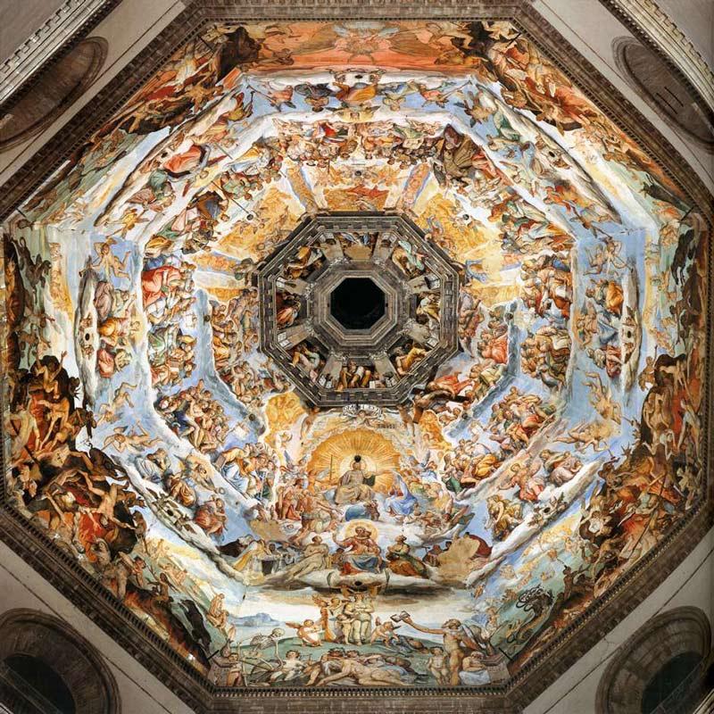 pinturas cupula brunelleschi
