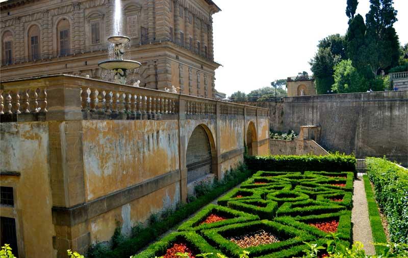 Palacio Pitti y los Jardines de Boboli