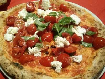 pizzaman comer pizza en florencia