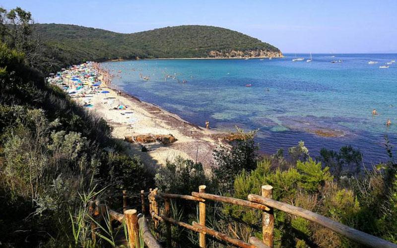 No es de extrañar que la Toscana cuente con playas encantadoras