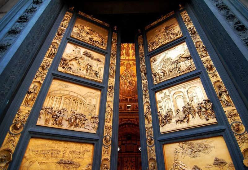 puerta del paraiso battistero