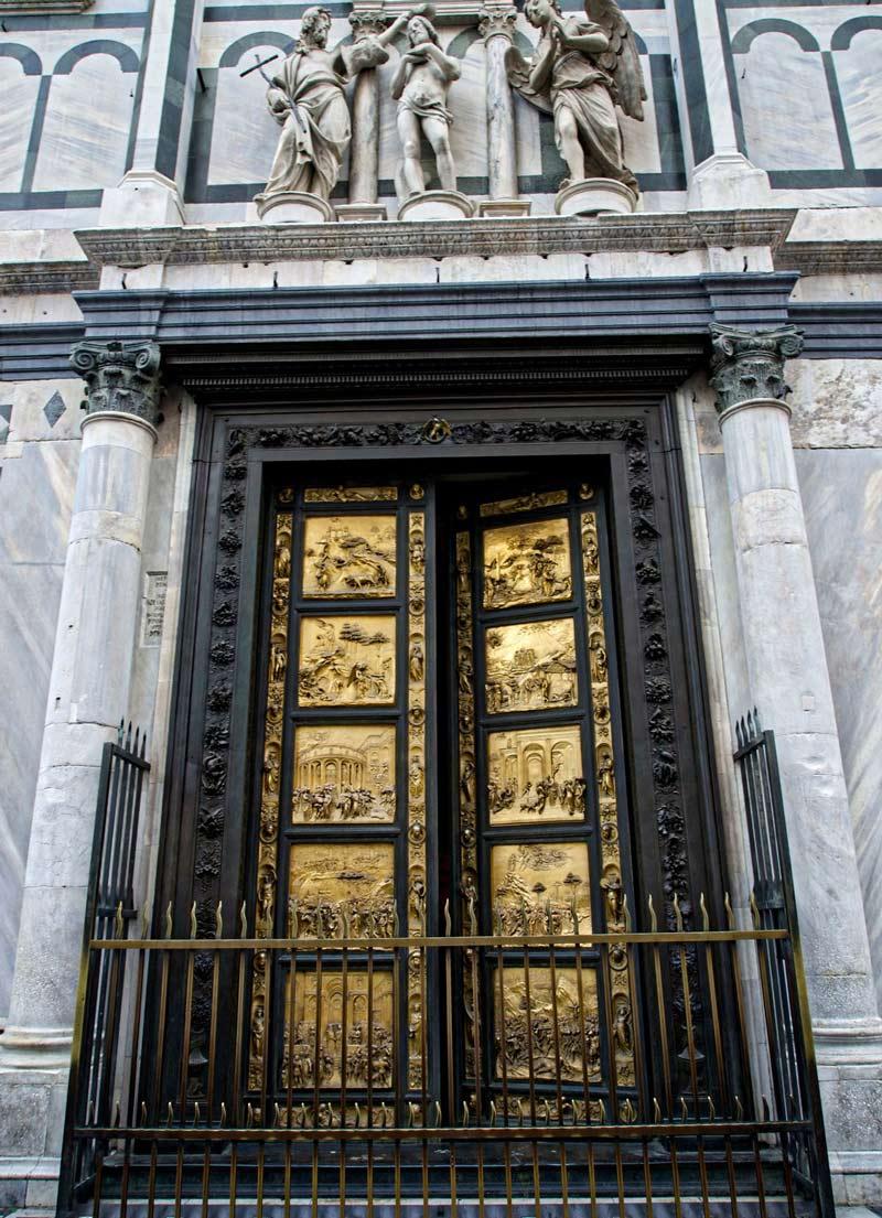 puertas baptisterio florencia
