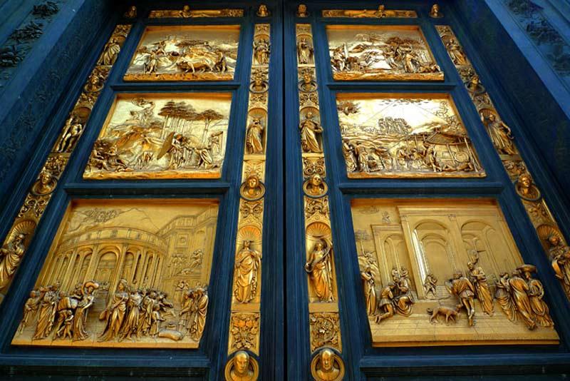 puertas paraiso baptisterio