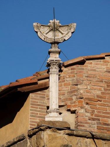 El reloj de sol del Ponte Vecchio