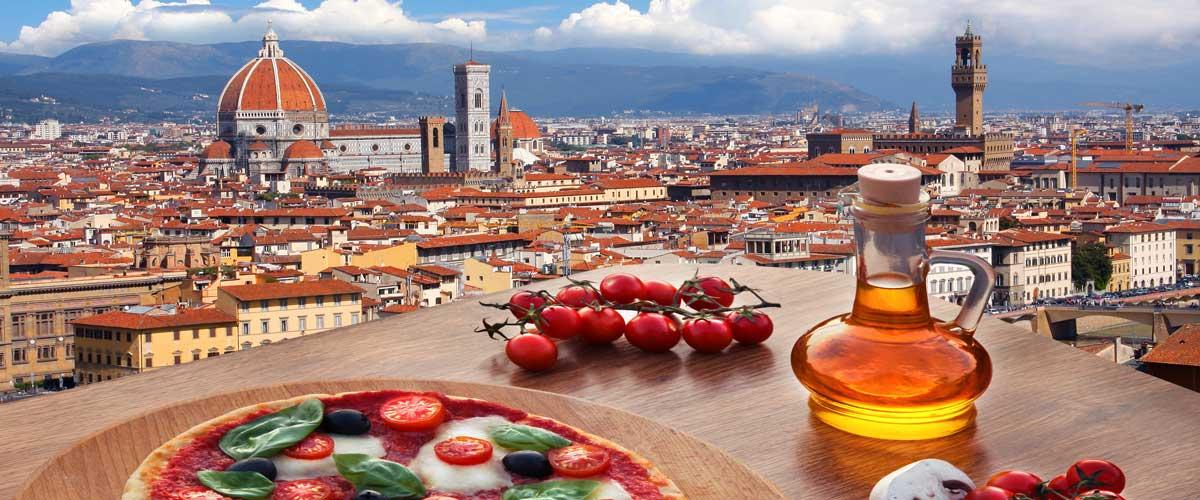Gastronomía italiana en Florencia