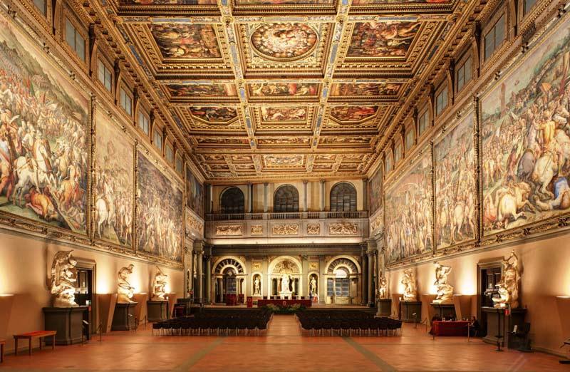 salon quinientos palazzo vechio