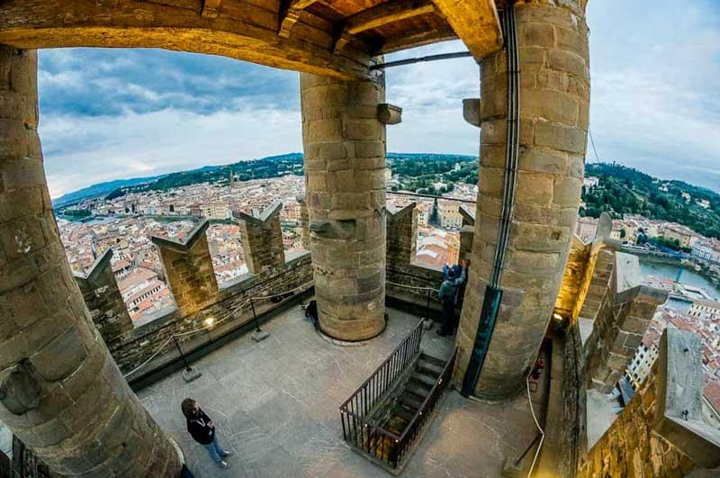 Vistas desde la Torre di Arnolfo