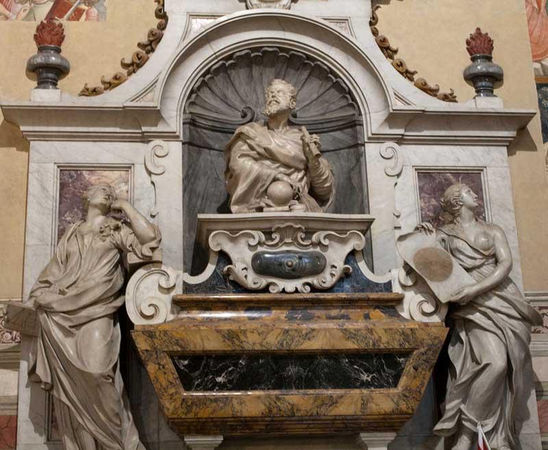 Tumba de Galileo en Santa Croce