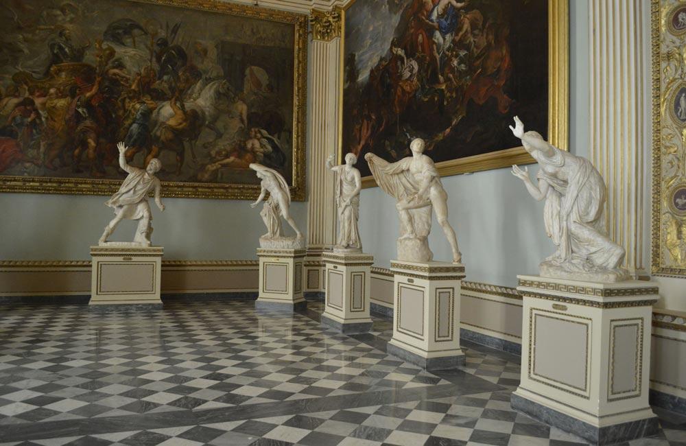 Arqueología y Artes Gráficas en la Galeria de los Uffizi