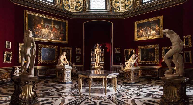 Obras de arte en Uffizi