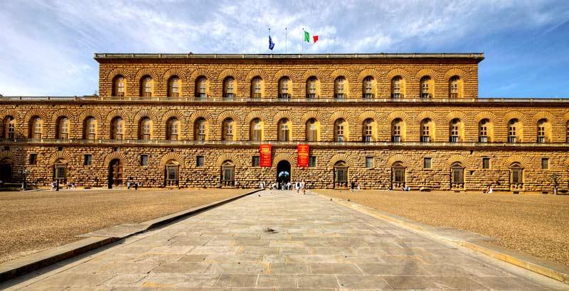 Palacio Pitti (Palazzo Pitti) Visitas, horario, precio, ubicación en  Florencia